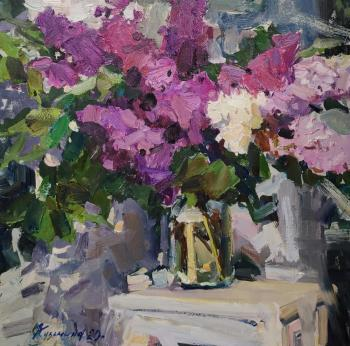 Bouquet of lilac. Kuzmina Olga