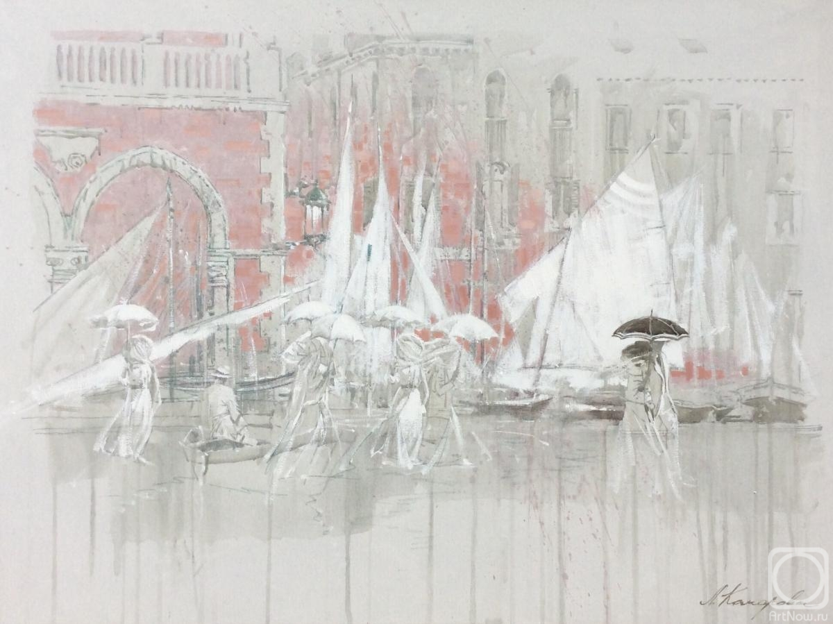 Komarova Elena. Dreams of Venice