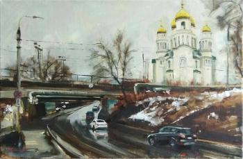 On the way to Krasnaya Glinka (Surrealism). Silantyev Vadim