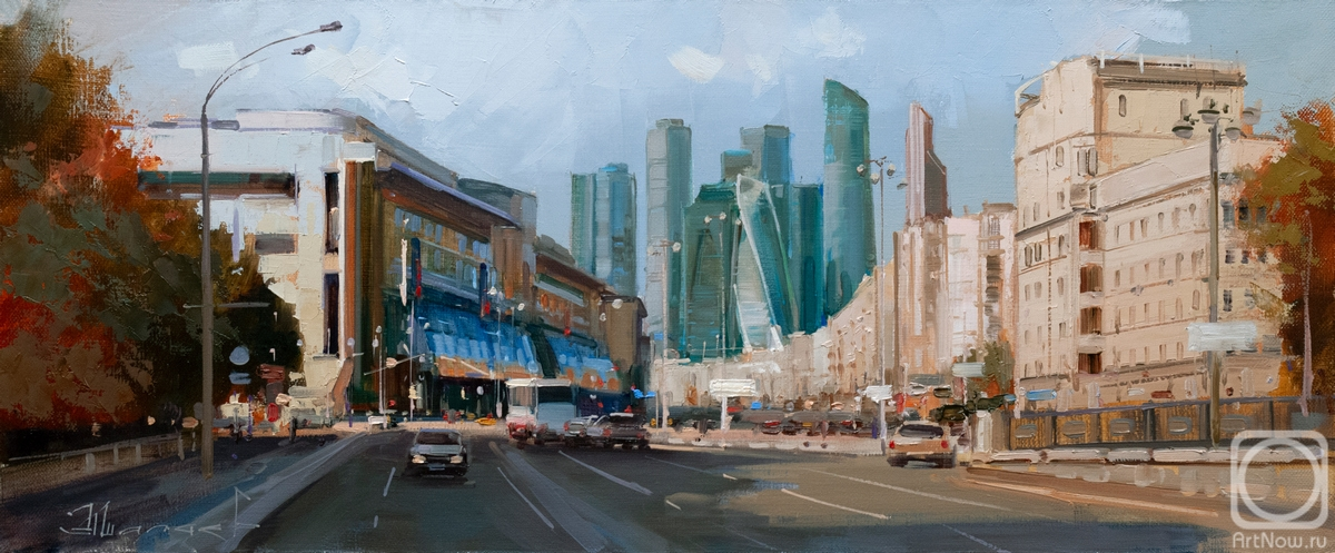 "Shalaev Alexey. Moscow tendencies. The Golden Road to the ""Emerald City"", B. Dorogomilovskaya"