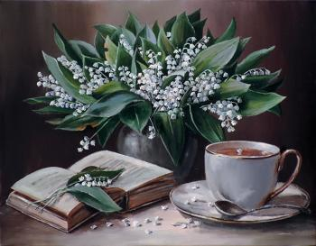 Tea with the aroma of lilies of the valley. Vorobyeva Olga