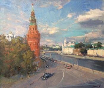 Moscow is mine! (Moscow-River). Poluyan Yelena