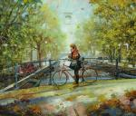 Boev Sergey. Autumn in Amsterdam