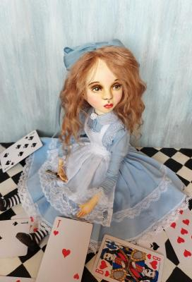 Collectible Doll Alice in Wonderland. Khotian Ivanna