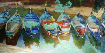 Boats in Goa