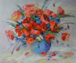 Moiseyeva Liana. Just poppies