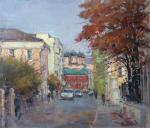 Poluyan Yelena. Autumn in Petrovsky lane