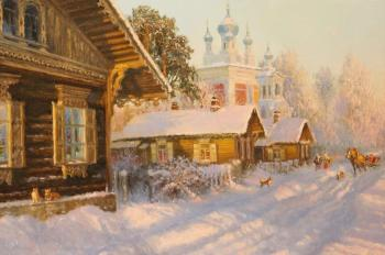Frosty day (Sun And Frost). Zhdanov Vladimir