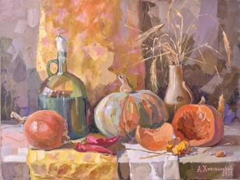 Stillife with pumpkins. Hmelnitskiy Aleksandr
