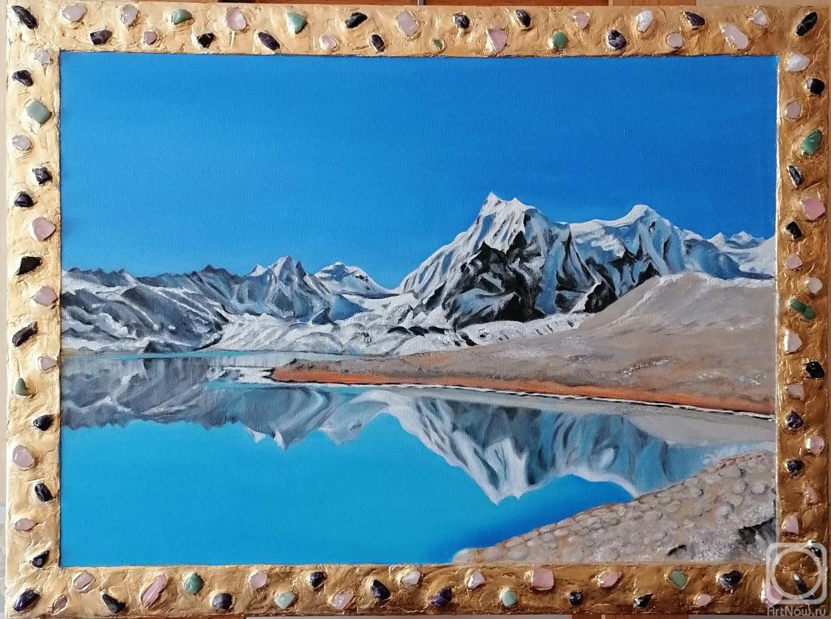 "Svetlyy Aleksandr. Central Tibet - At the Lake (Art series ""Real Tibet"" )"