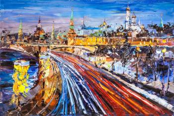 View of the Kremlin in early spring. Rodries Jose