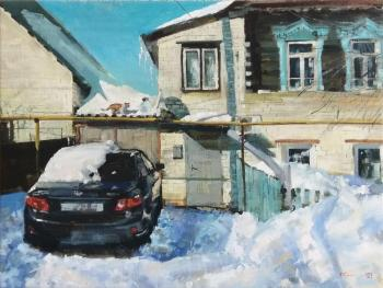 The month of March (Transport). Silantyev Vadim