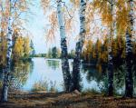 Ergunov Anatoliy. On the shore of the pond
