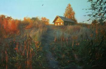 The house on the hill. Kovalev Yurii