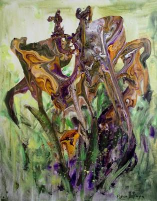 Irises from the planet of dreams. Ostraya Elena