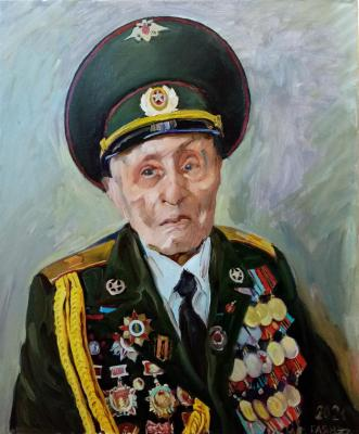 Veteran (from nature). Dobrovolskaya Gayane