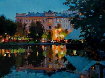Warm evening on Chistye Prudy. Volkov Sergey