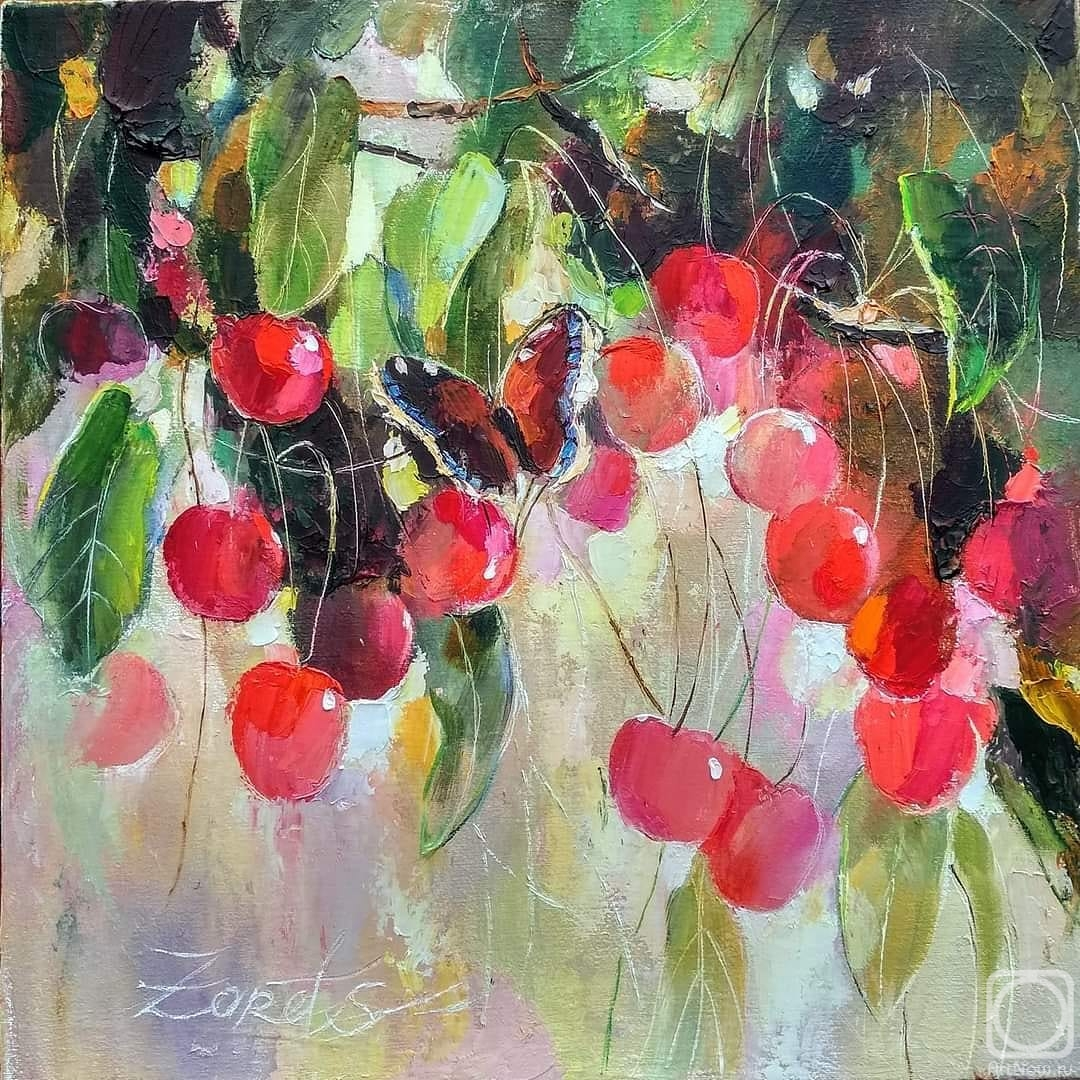 Zaretskaya Tatyana. Cherry shadows