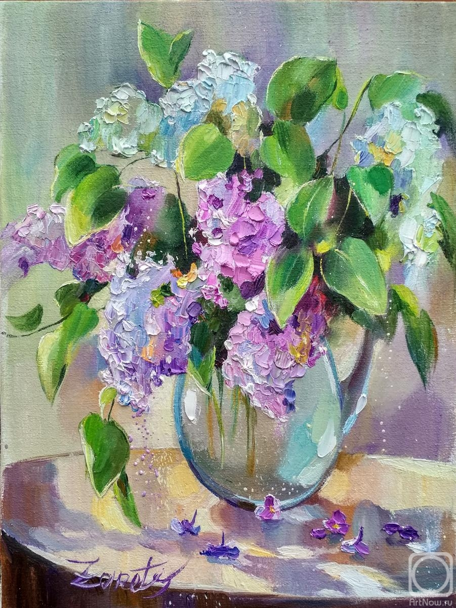 Zaretskaya Tatyana. The first lilac
