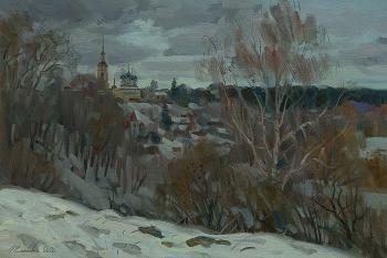 Harsh February. Zhlabovich Anatoly