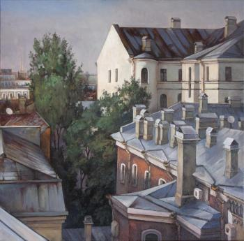On the roofs. Rumiyantsev Vadim