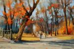 Shalaev Alexey. September is an artist. Strastnoy Boulevard