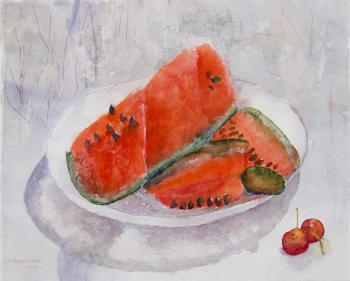 Watermelon day. Kazakova Tatyana
