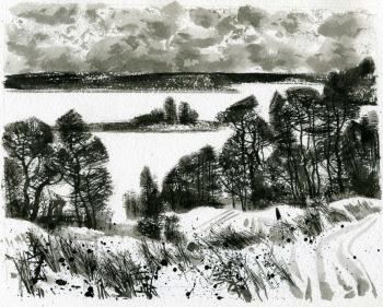 Untitled (Winter Landscape). Isaev Gennadiy