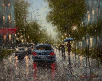 Rain in the city. Gredasov Victor