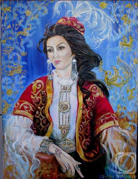 Девука в национальном костюме