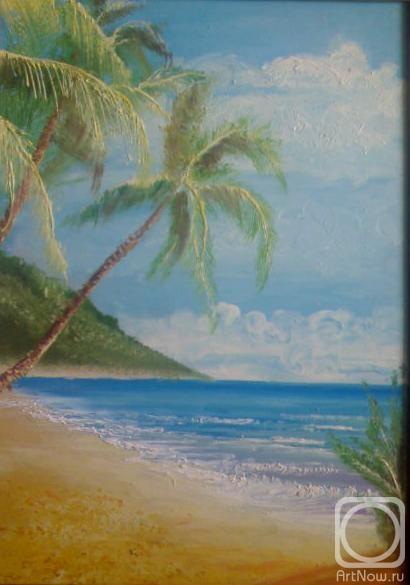 Картины художника море пальмы