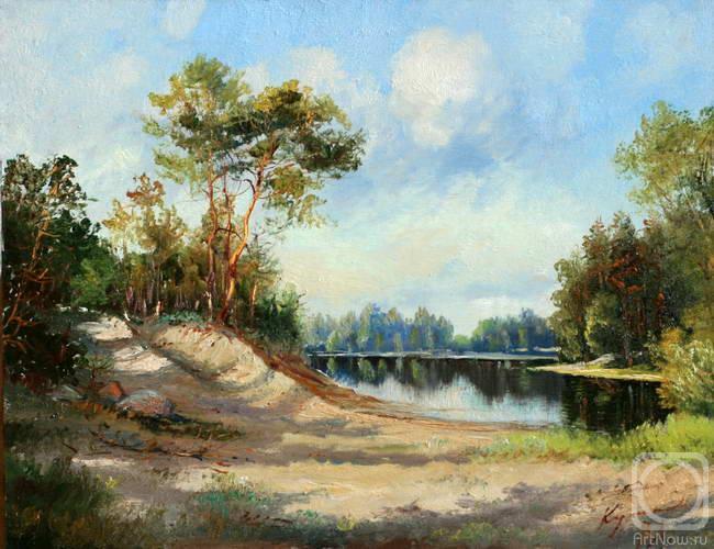 Картины художника летний пейзаж