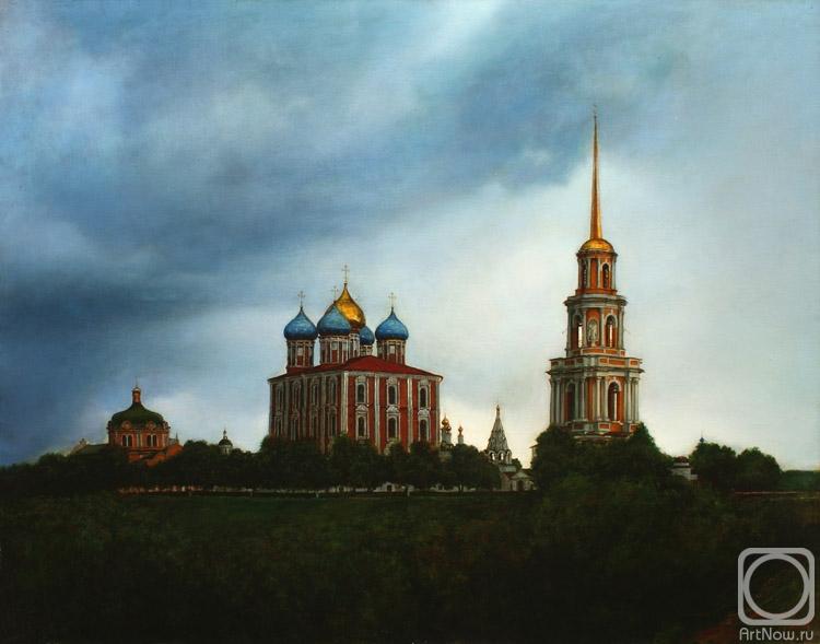 Миронов Андрей. Кремль. Рязанская троица