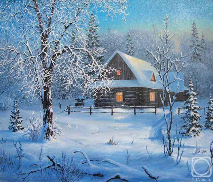 картинка бунин помню долгий зимний вечер специально
