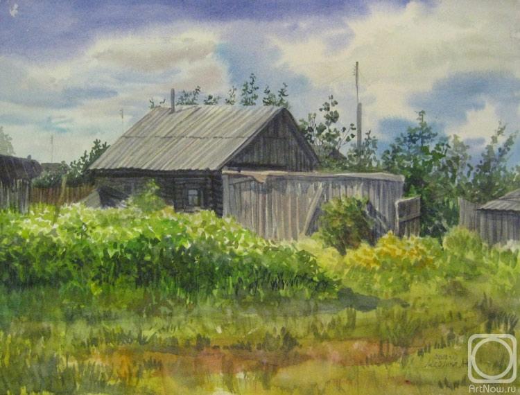 деревня живопись:
