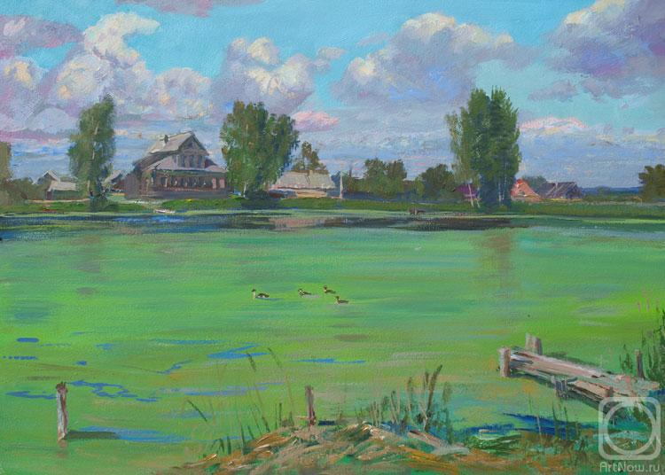 Loukianov Victor. Pond at the village Voshazhnikovo