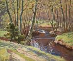 Forest river. Ovchinnikov Nukolay