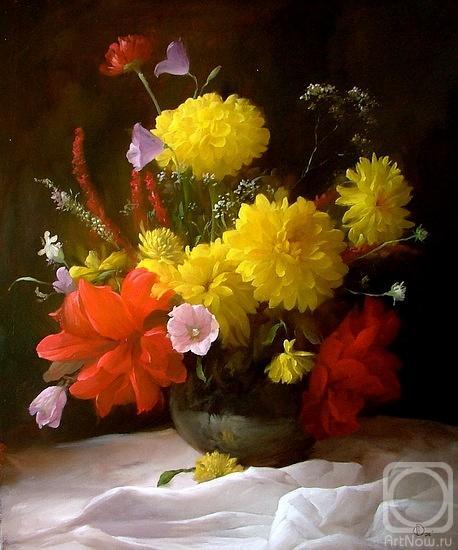 Картины художника цветы
