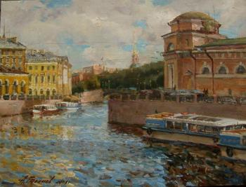 Galimov Azat. Moyka River, Saint-Petersburg
