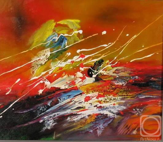 Картины художника абстракция