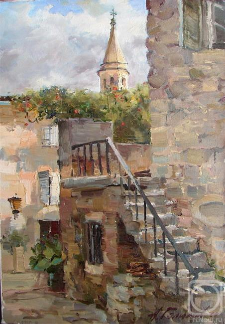 Galimov Azat. Montenegro. The Small courtyard in Budve