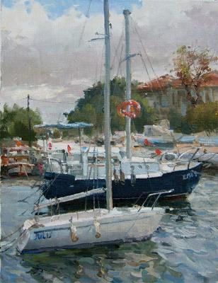 Sailboats beside Buyukada. Galimov Azat