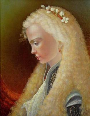Portrait of the girl. Panin Sergey