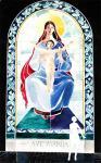 Ave Maria. Витраж