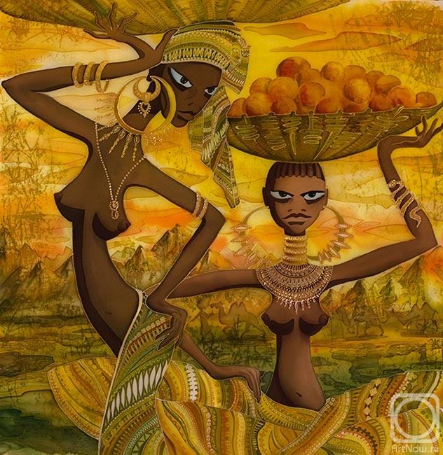 Кулененок Лилия. Африканки