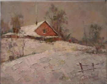 Radionov Sergey. Winter in Karachevka