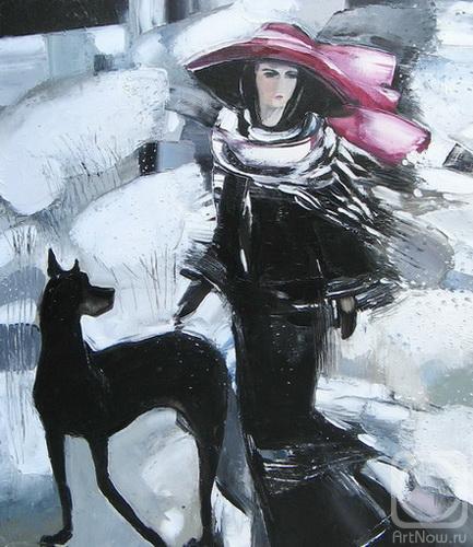 Садыкова Диана. дама с собакой 2