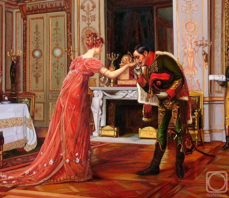 Arseni Victor. The visit of the fiance