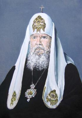Peschanaia Olga. The patriarch Moscow and Russia Alex II