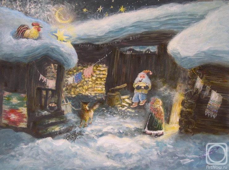 Гурьева-Сажаева Александра. Зимняя сказка
